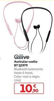 Oferta de Auricular cuello BT Q1979 Qilive por 10,9€