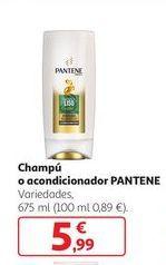 Oferta de Champú o acondicionador PANTENE por 5,99€
