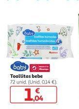 Oferta de Toallitas bebe por 1,04€