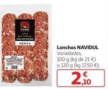 Oferta de Lonchas NAVIDUL por 2,1€