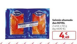 Oferta de Salmón ahumado Royal por 4,49€