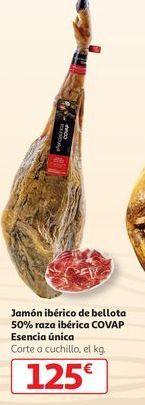 Oferta de Jamón ibérico de bellota 50% raza ibérica Covap esencia única por 125€