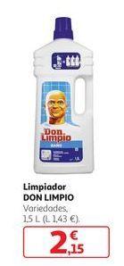 Oferta de Limpiador Don Limpio por 2,15€