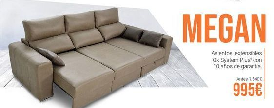 Oferta de Sofá MEGAN por 995€