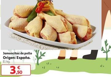 Oferta de Jamoncitos de pollo por 3,5€
