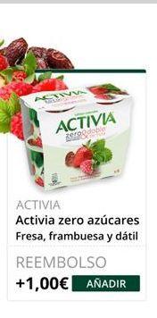 Oferta de Yogur Activia por
