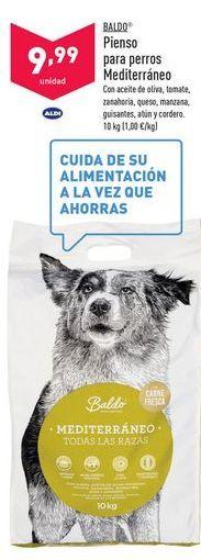 Oferta de Comida para perros Baldo por 9,99€