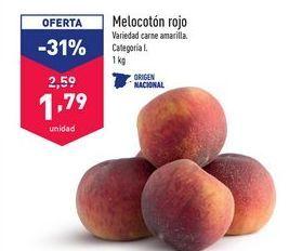 Oferta de Melocotones por 1,79€