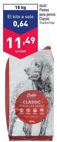 Oferta de Comida para perros Baldo por 11,49€