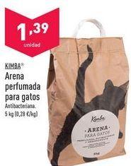 Oferta de Arena para gatos Kimba por 1,39€
