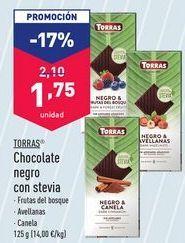 Oferta de Chocolate negro Torras por 1,75€