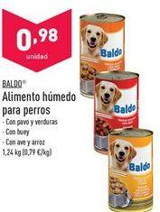 Oferta de Comida para perros Baldo por 0,98€