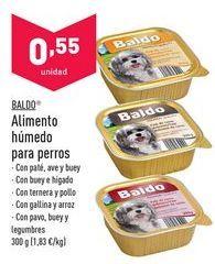 Oferta de Comida para perros Baldo por 0,55€