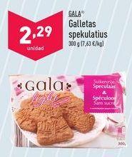 Oferta de Galletas Gala por 2,29€