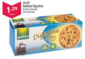 Oferta de Galletas Digestive Gullón por 1,29€