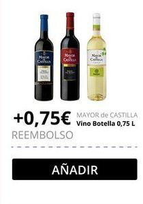 Oferta de Vino blanco Mayor de Castilla por