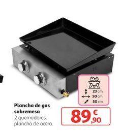 Oferta de Plancha de gas sobremesa por 89,9€