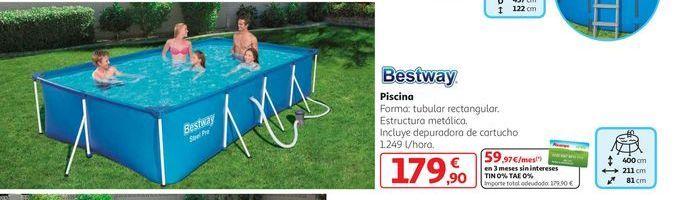 Oferta de Piscina Bestway por 179,9€