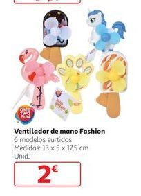 Oferta de Ventilador de mano Fashion por 2€