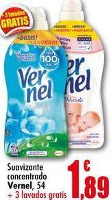 Oferta de Suavizante Vernel por 1,89€