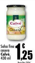 Oferta de Salsas Calvé por 1,25€