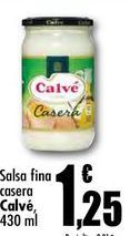 Oferta de Salsas por 1,25€