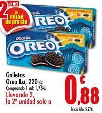Oferta de Galletas Lu por 1,75€