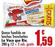Oferta de Queso en lonchas por 1,59€