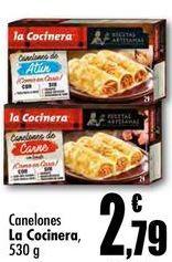 Oferta de Canelones La Cocinera por 2,79€