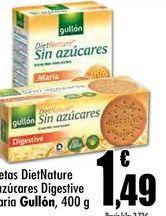 Oferta de Galletas Gullón por 1,49€