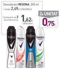 Oferta de Desodorante en spray Rexona por 2,49€