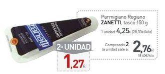 Oferta de Queso parmesano Zanetti por 4,25€