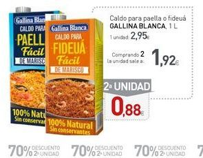Oferta de Caldo de paella Gallina Blanca por 2,95€