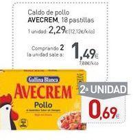 Oferta de Caldo de pollo Avecrem por 2,29€