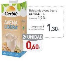 Oferta de Bebida de avena Gerblé por 1,99€