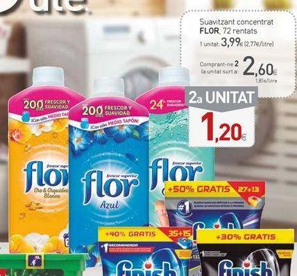 Oferta de Suavizante Flor por 3,99€