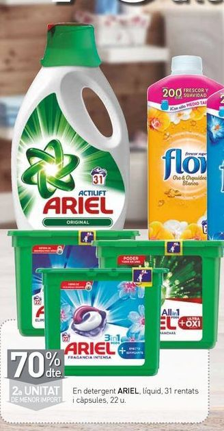 Oferta de Detergente Ariel por