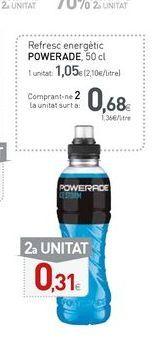 Oferta de Bebida energética Powerade por 1,05€