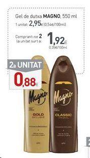 Oferta de Gel de baño Magno por 2,95€