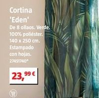 Oferta de Cortinas por 23,99€