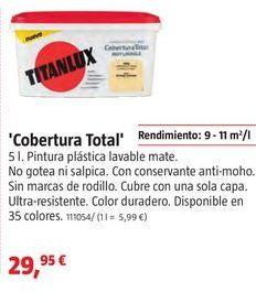 Oferta de Pintura plástica Titan por 29,95€