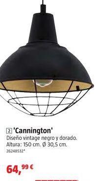 Oferta de Lámpara colgante por 64,99€