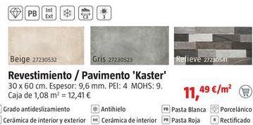 Oferta de Revestimientos por 11,49€