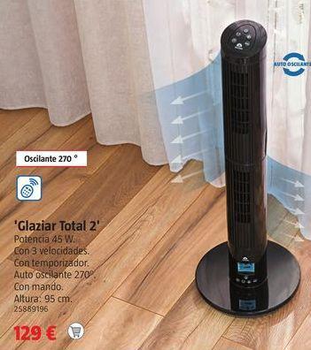 Oferta de Ventilador de pie por 129€