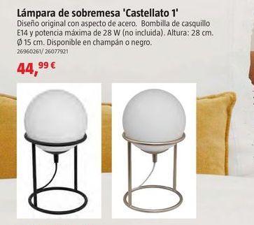 Oferta de Lámpara de mesa por 44,99€