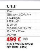 Oferta de Aire acondicionado por 499€