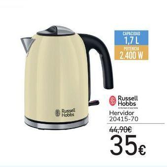 Oferta de RUSSELL HOBB Hervidor  por 35€