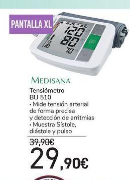 Oferta de Tensiómetro Medisana por 29,9€