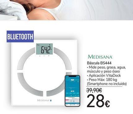 Oferta de Báscula de baño Medisana por 28€