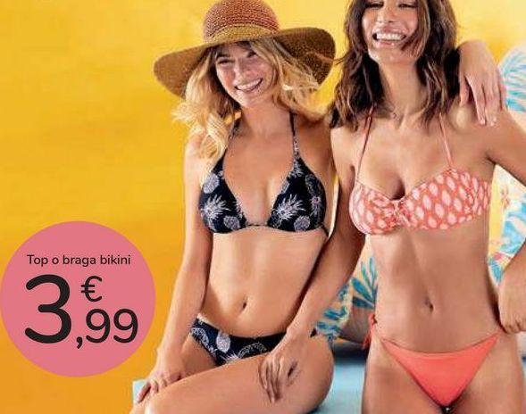 Oferta de Top o braga bikini  por 3,99€